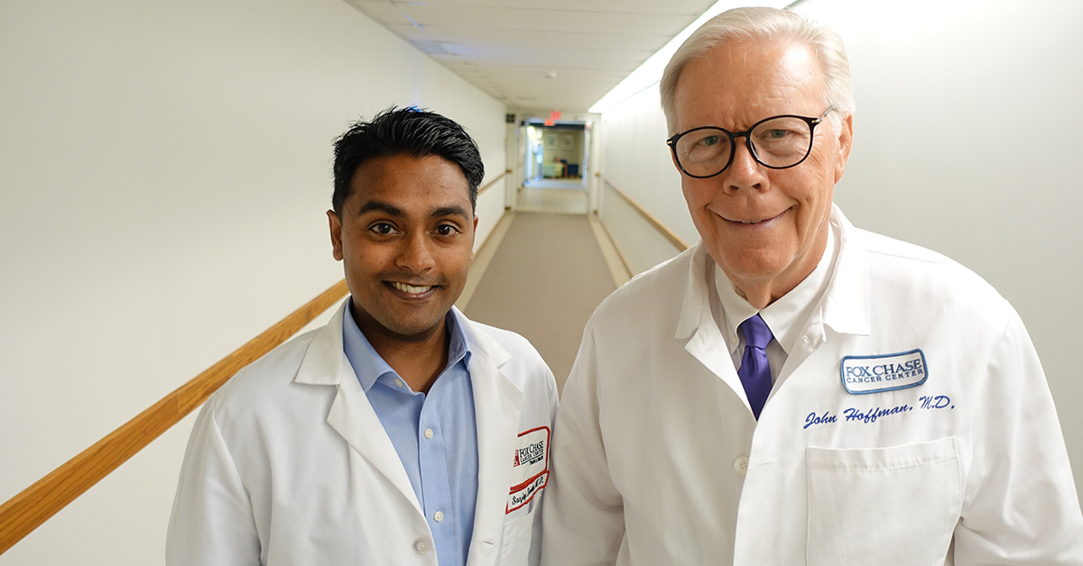 For the past seven years, Hoffman and Reddy have worked as a team. It is a special relationship because they embody the same approach to patient care.