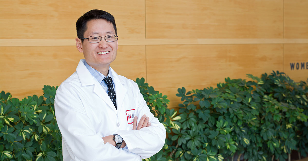 Jeffrey Liu, MD, FACS, surgeon in the Division of Head and Neck Surgery and an associate professor in the Department of Surgical Oncology.