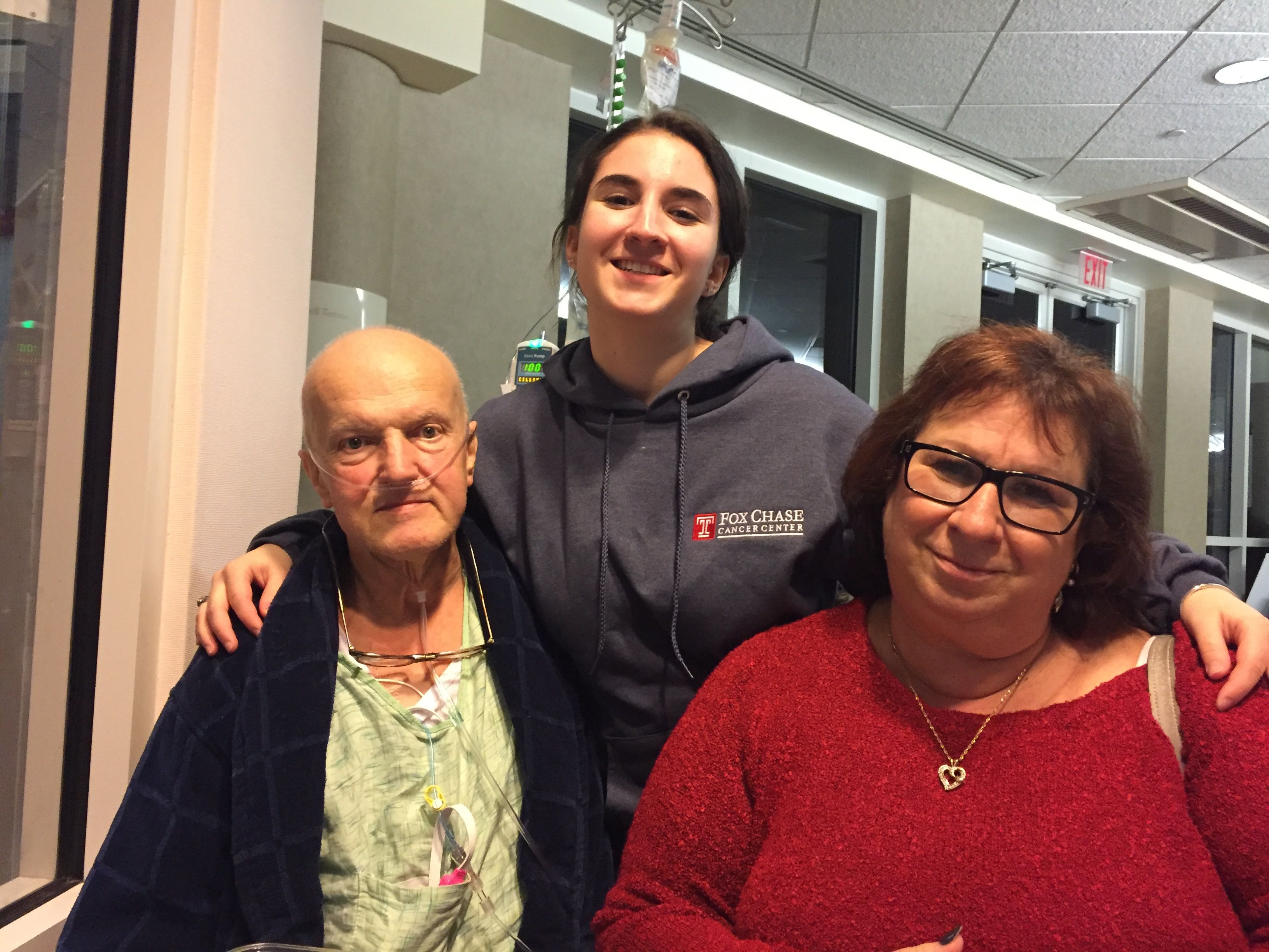 Joyce Vrbicek's husband Braco received treatment for lung cancer at Fox Chase. When she was diagnosed with lung nodules, it was her first choice to be treated here.