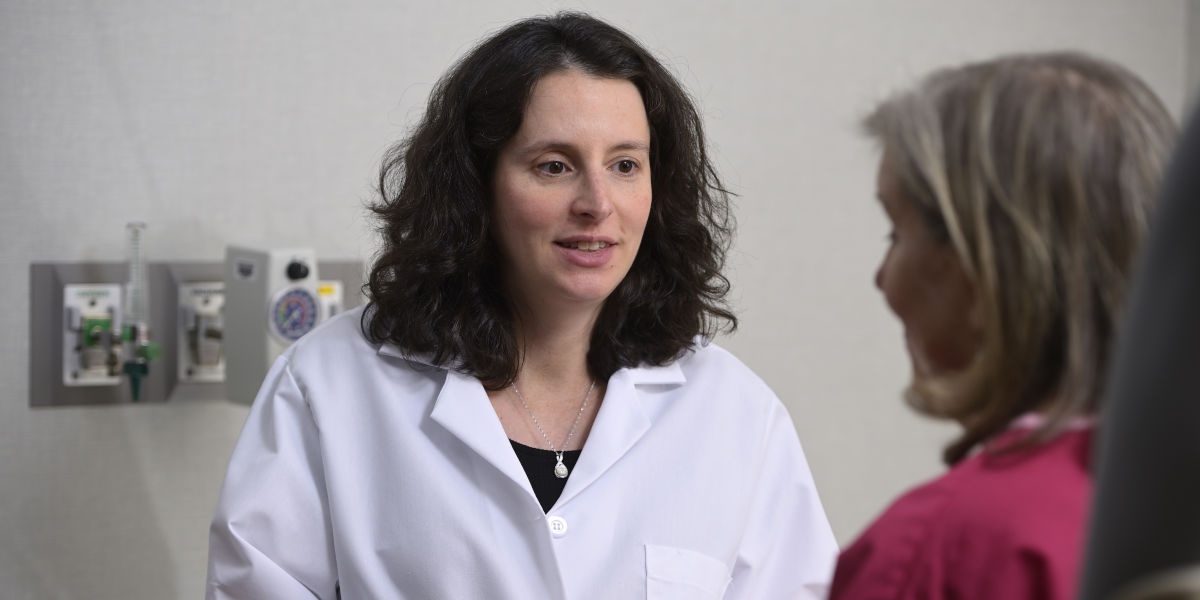 Surgical oncologist Stephanie Greco, MD offers many treatment options for appendix cancer patients, including cytoreductive surgery and HIPEC. This treatment option is mainly available at specialized cancer centers that have expertise treating rare cancers.