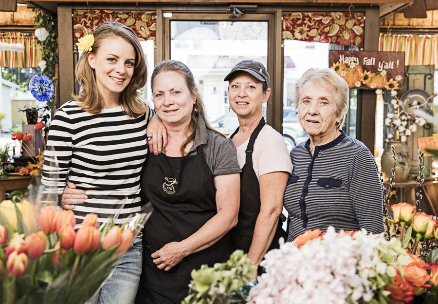 Brooke helps operate a family-run flower shop in Quakertown.