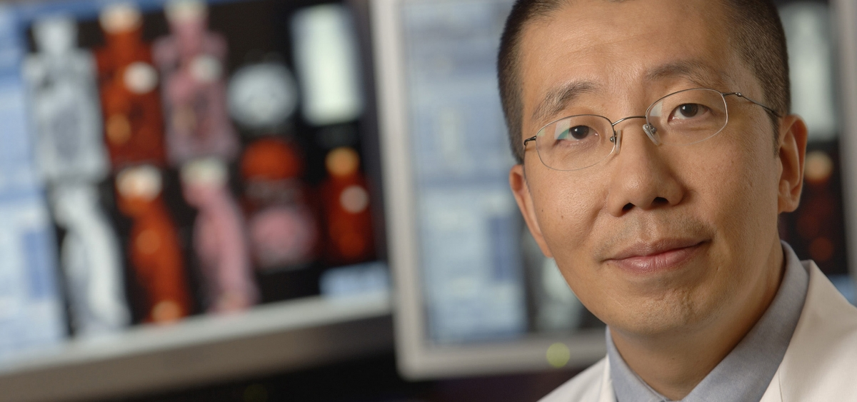 Jian Q. (Michael) Yu, the chief of Nuclear Medicine at Fox Chase, works with a team of radiologists to provide sensitive and early detection for many disease processes like cancer.