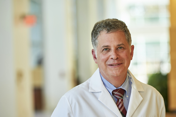 Martin J. Edelman, MD, Chair of the Department of Hematology/Oncology.