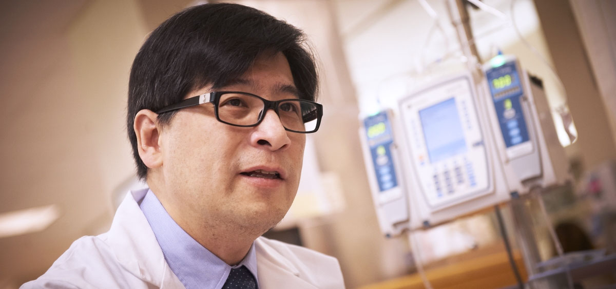 Henry C. Fung, MD, FRCPE, is vice chair of Hematology at Fox Chase and director of the Fox Chase-Temple BMT Program.