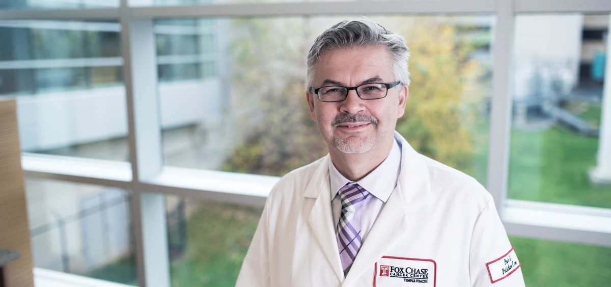 Dr. Chwistek began his career in radiation oncology before devoting himself to palliative medicine. He joined the palliative care team at Fox Chase in 2006.
