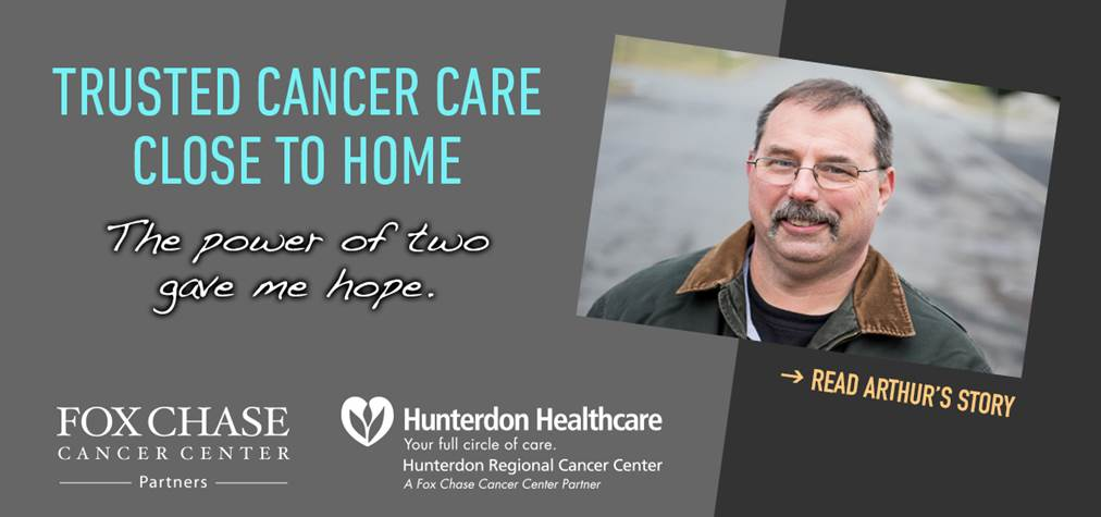 Trusted Cancer Care Close to home: Hunterdon