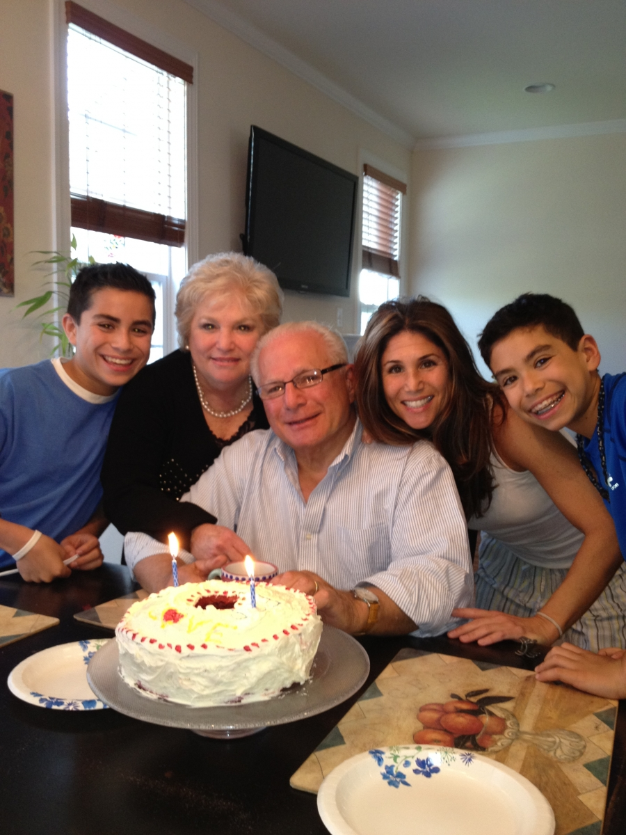 Judy loves celebrating milestones with her husband, their daughter and grandsons.