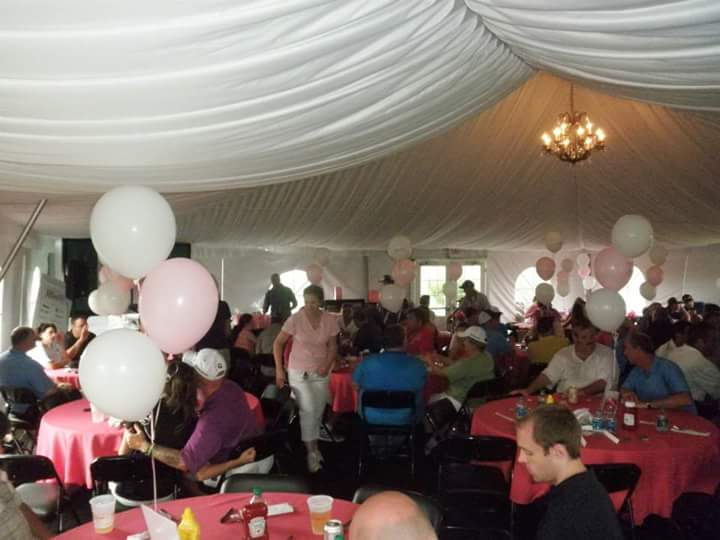Kathy runs a Rally for the Cure golf outing every July at Heron Glen Golf Course in Ringoes, NJ, which benefits Susan G. Komen.