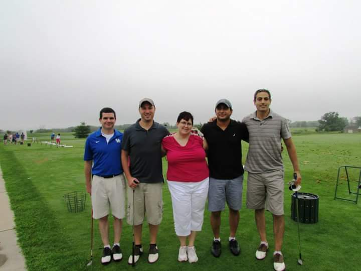Kathy's event, Rally for the Cure golf outing.