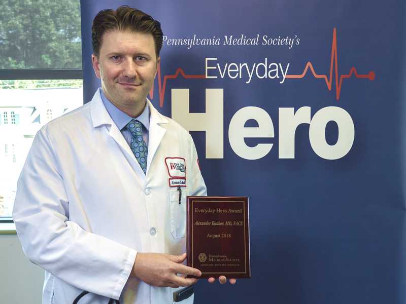 PAMED's Everyday Hero Award is designed to showcase talented physicians who probably don't view themselves as heroes, but to patients and colleagues they are.