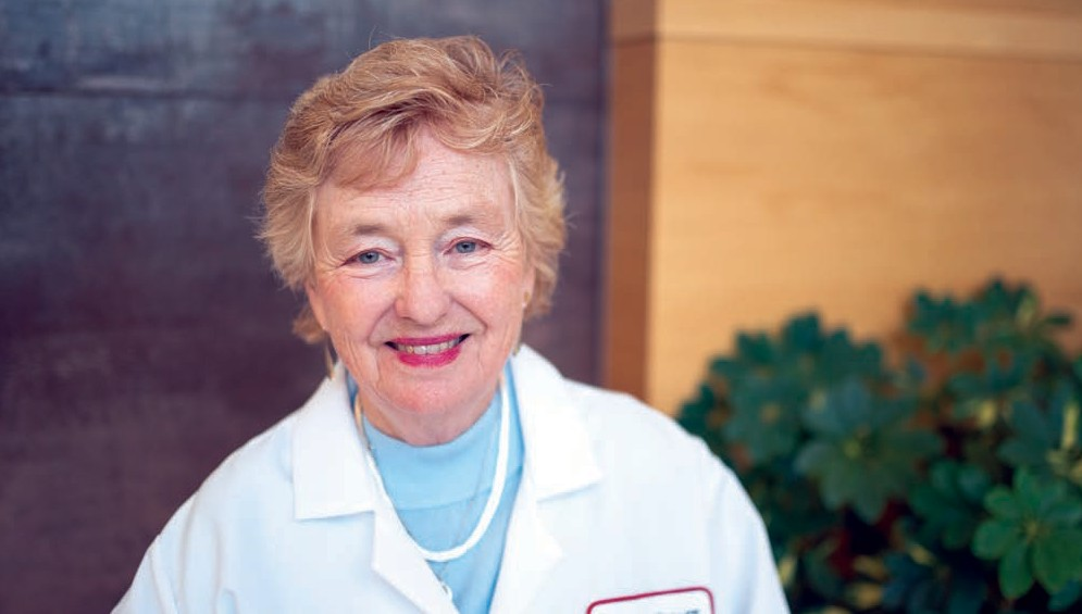 Mary B. Daly, MD, PhD, Chair of the Department of Clinical Genetics