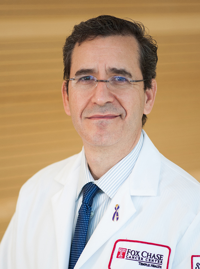 Nestor F. Esnaola, MD, MPH, MBA, Professor in the Department of Surgical Oncology at Fox Chase