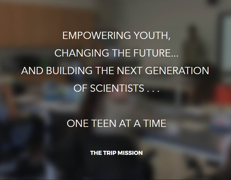 Empowering youth. changing the future... and building the next generation of scientists... one teen at a time
