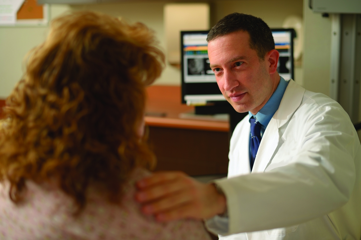 Richard Bleicher, a breast surgical oncologist, helps women feel better about their new bodies following breast reconstruction.