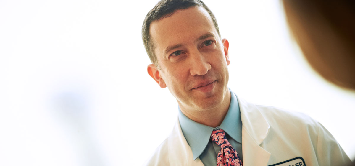 As the leader of the breast service program and director of the breast fellowship program, Richard Bleicher works with a multidiscplinary team to treat breast cancer, with a focus on breast conservation to ensure a good cosmetic outcome.