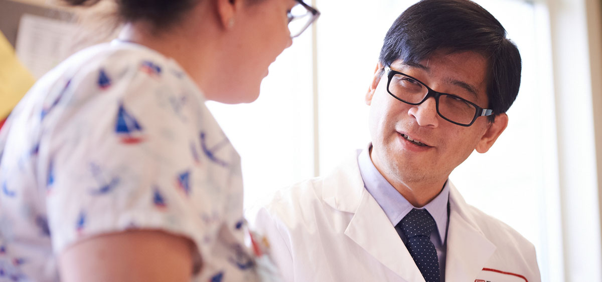 Vice Chair for the Department of Hematology Oncology, Henry Fung, helps set treatment guidelines for hematologic cancers by serving on the National Comprehensive Cancer Network guidelines board.