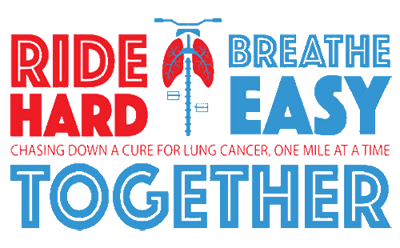 Ride Hard Breathe Easy. Chasing down a cure for lung cancer, one mile at a time. ridehardbreatheeasy.com