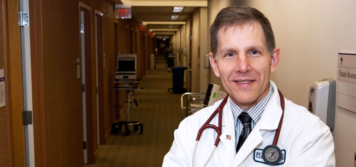 Anthony Olszanski, as the co-director of Cutaneous Oncology and Melanoma Program, works with a team of doctors who specialize in surgical oncology, medical oncology, radiation oncology, dermatology and plastic surgery to treat skin cancers.