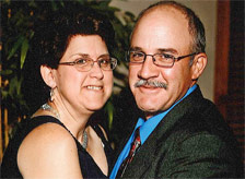 Kathy and her husband, Mike.