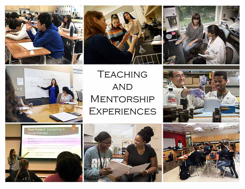 Teaching and Mentoring Experience for Postdoctorates
