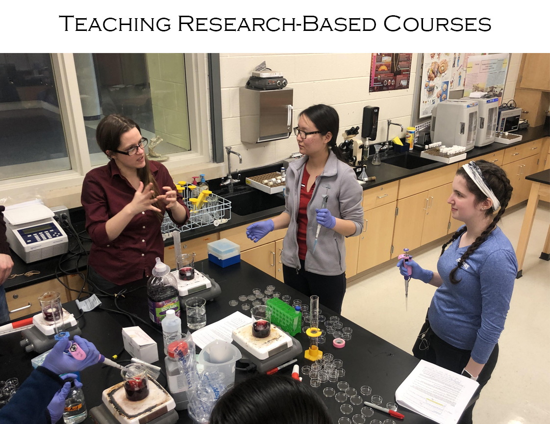 Teaching Research-Based Courses