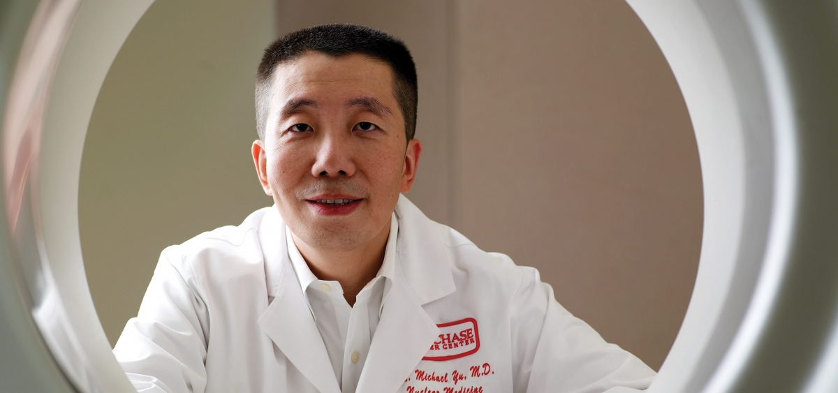 Jian Q. (Michael) Yu, MD, FACNM, FRCPC, Chief of Nuclear Medicine at Fox Chase.