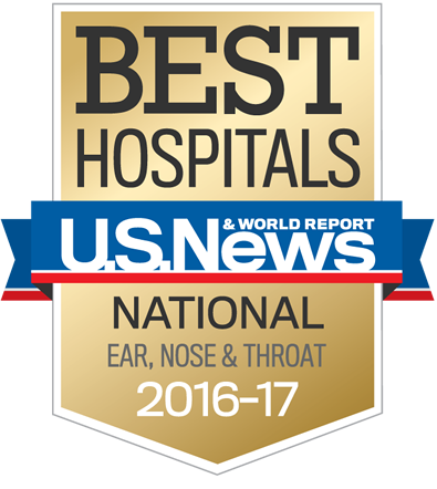 U.S. News & World Report ranks Fox Chase Cancer Center nationally for the treatment of Ear, Nose, and Throat cancers.