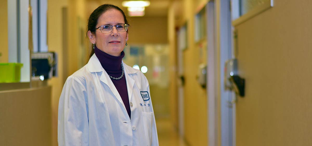 "Margaret von Mehren, MD, chief of the Sarcoma Program at Fox Chase. ""Historically, when talking about any GIST tumors that did not have those mutations we called them 'wild-type.'"""