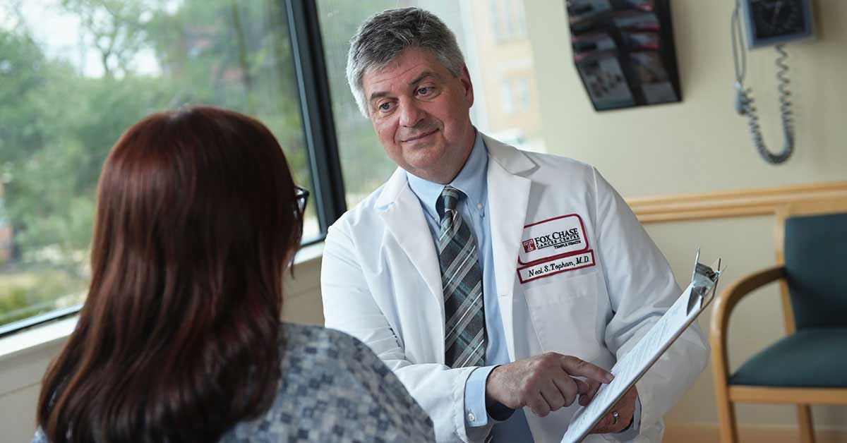 Neal S. Topham, MD, FACS, Chief, Plastic and Reconstructive Surgery, believes informing patients about what they can expect pre- and post-operatively is very important. He also encourages patients to ask as many questions as necessary in order to feel comfortable.