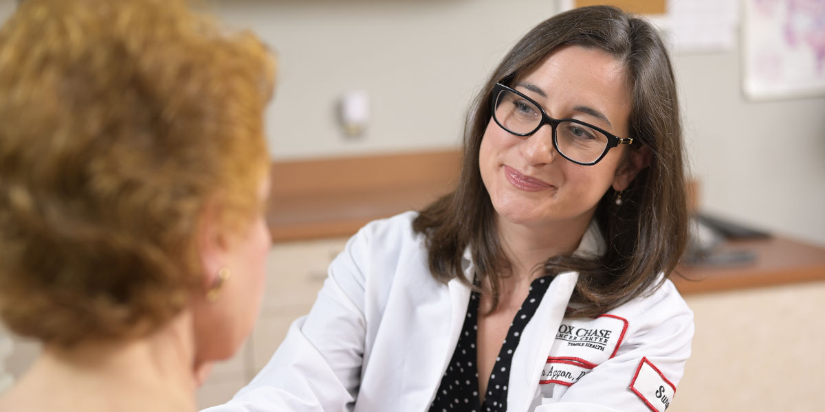 Allison A. Aggon, DO, FACOS works with Fox Chase's multidisciplinary team of breast cancer specialists to develop individualized treatment plans for each patient.