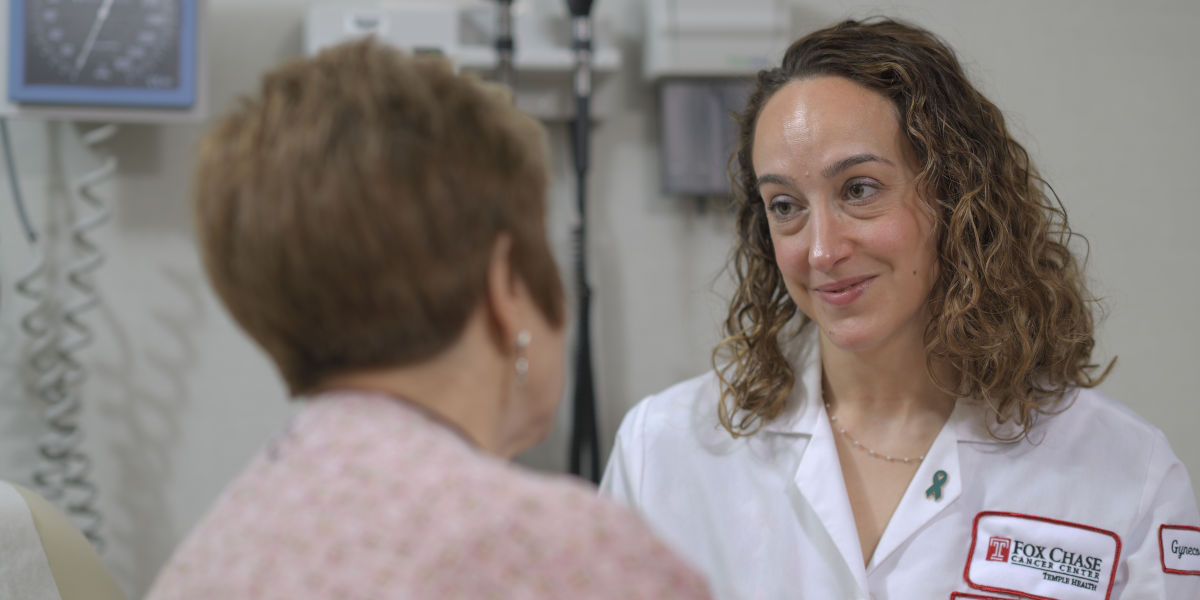 Gina M. Mantia-Smaldone, MD, a gynecologic oncologist at Fox Chase Cancer Center, offers the latest treatment options to patients with gynecologic cancer.