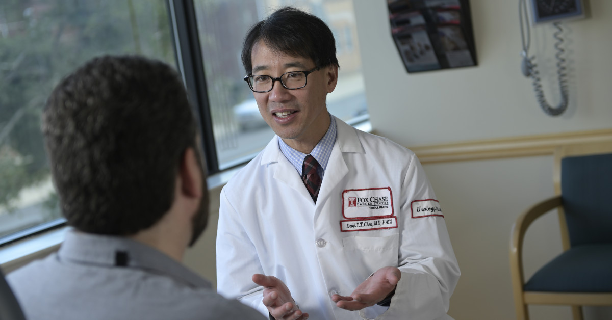 Dr. Chen With Patient