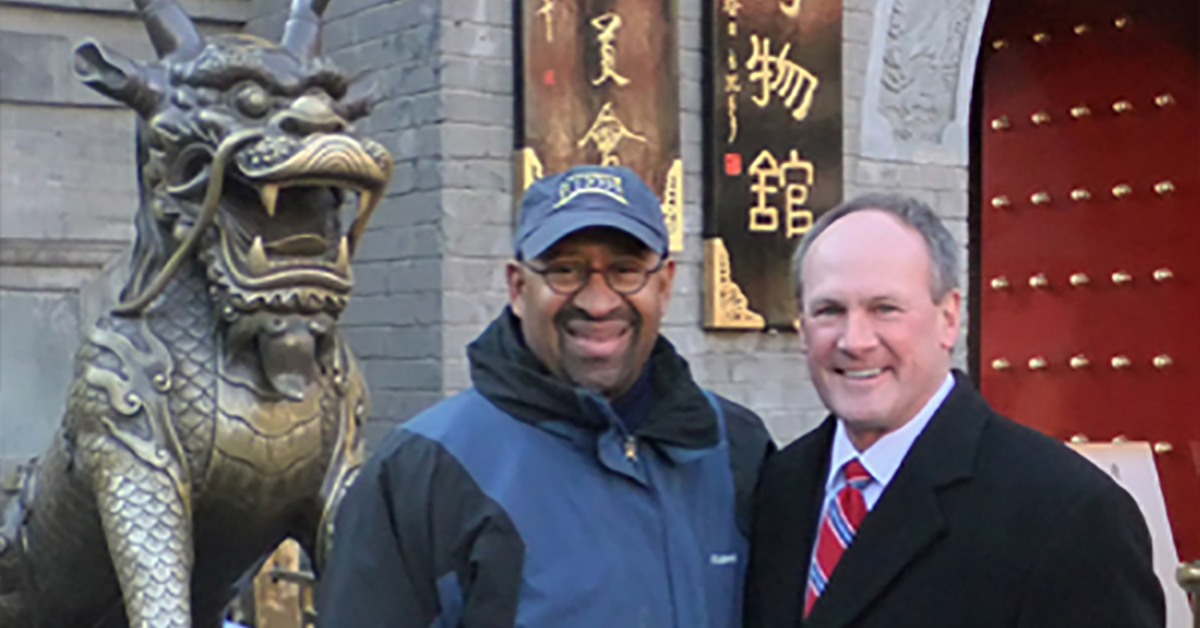 Mayor Nutter Visited Tianjin with Fox Chase