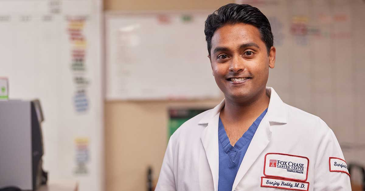 Sanjay S. Reddy, MD, FACS, has extensive training in the surgical treatment of pancreatic cancer and is Co-Director of the  Marvin & Concetta Greenberg Pancreatic Cancer Institute.