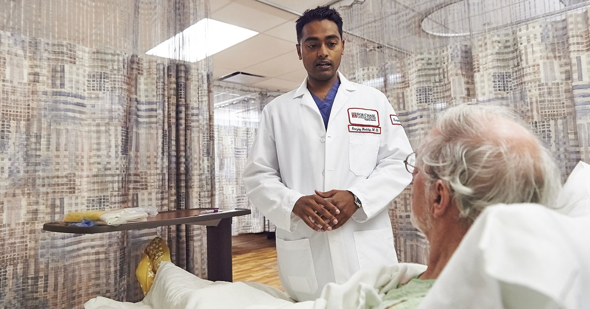 Sanjay S. Reddy, MD, FACS believes the physician-patient relationship is one of the foundations to building a plan to treat cancer, and offers guidance through each stage of treatment.