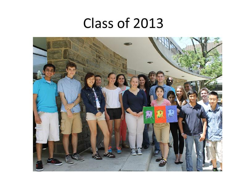Immersion Science, Class of 2013