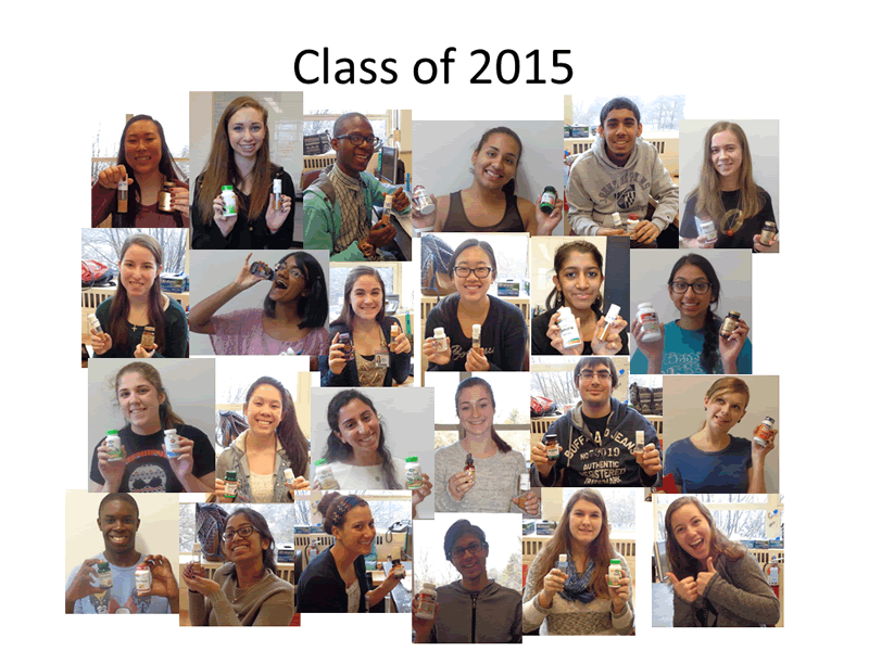 Immersion Science, Class of 2015