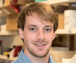 John J. Krais, PhD, a postdoctoral associate in the Molecular Therapeutics program.