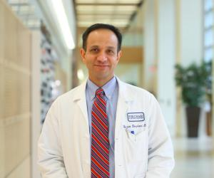 Hossein Borghaei, DO, chief of thoracic medical oncology and director of lung cancer risk assessment at Fox Chase