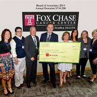 Board of Associates Presents Annual Donation