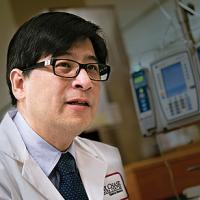 Henry Fung directs the Bone Marrow Transplant Program