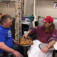 Generous Gifts Offer Comfort to Fox Chase Patients Undergoing Chemotherapy