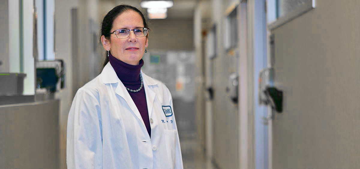 Margaret von Mehren, MD, is Chief of the Division of Sarcoma Medical Oncology, and leads clinical studies to help advance therapeutic options for patients with sarcoma.